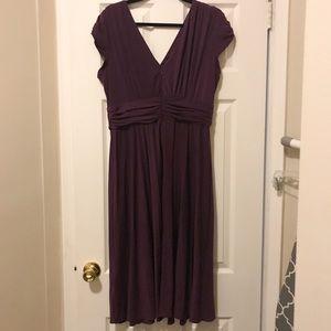 Suzi Chin by Maggy Boutique purple evening dress